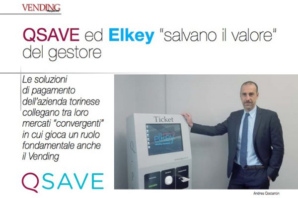 Abstract dell'articolo di Vending Magazine con intervista a Andrea Costantin